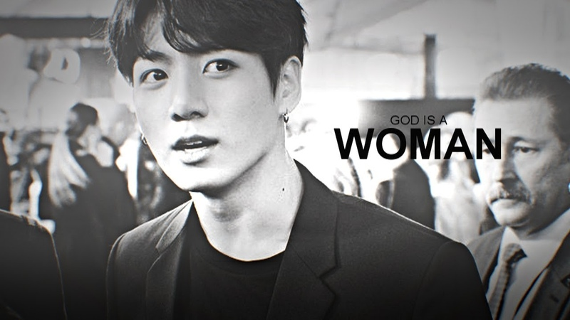 JUNGKOOK ─「GOD IS A WOMAN」