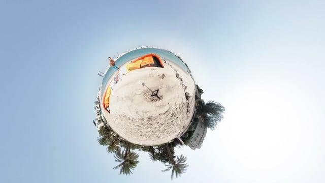 Qatar Kitesurfing, Foiling Days. GOPRO Fusion