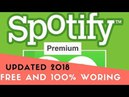 HOW TO GET SPOTIFY PREMIUM **FREE 2018** 👉100% WORKING👍