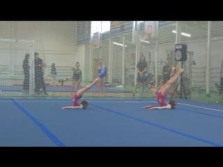 Городские соревнования по акробатике