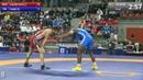 GOLD FS - 65 kg: Marquez Frank CHAMIZO (ITA) df. Zarubi IAKOBISHVILI (GEO), 6-0