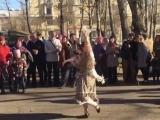 Ретро-площадка Молотовск. Весна. Победа