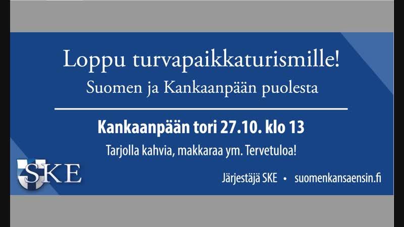 SKE 161. Koivukylän ja Kankaanpään miekkarit 12 ja 27.10!