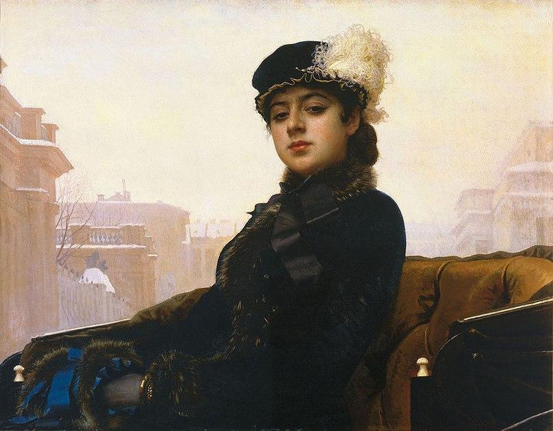 Женские портреты кисти И.Н.Крамского (1837 — 1887) UpyzpiHPKvg