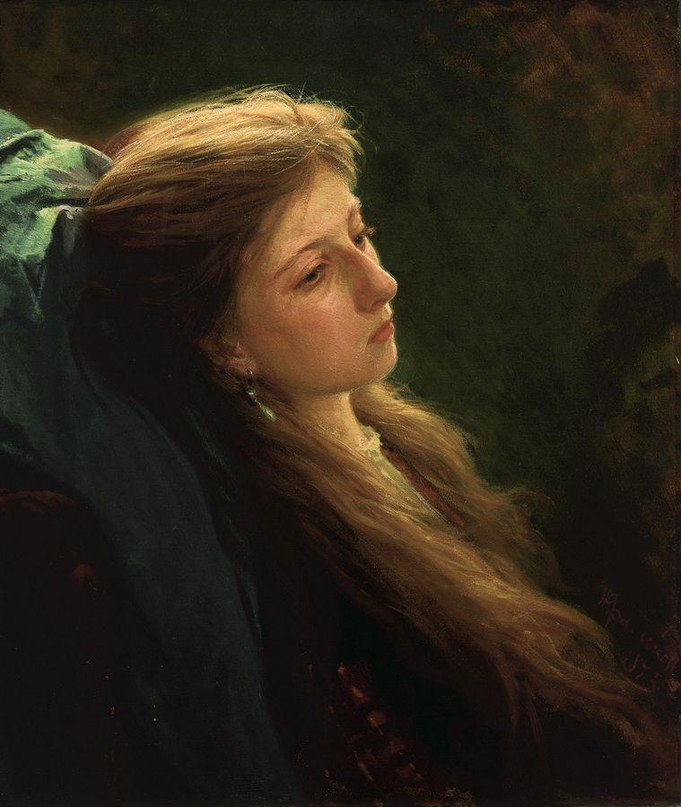 Женские портреты кисти И.Н.Крамского (1837 — 1887) WboykcVtr3k