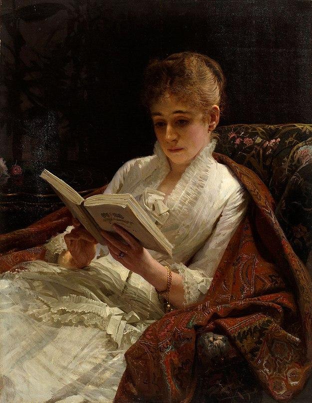 Женские портреты кисти И.Н.Крамского (1837 — 1887) 8edRZ-fyzqw