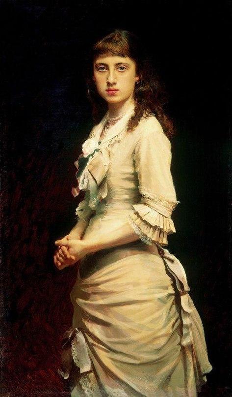 Женские портреты кисти И.Н.Крамского (1837 — 1887) -BRz2EeRapM