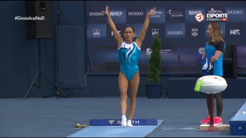 Oksana Chusovitina (UZB) VT Final @ Osijek 2018