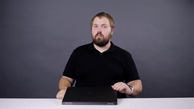 Обнесли студию Распаковка HP Spectre x360