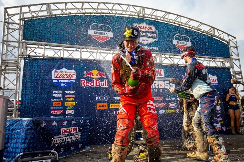 AMA Motocross 2018, этап 10 - Юнадилла (результаты, фото, видео)
