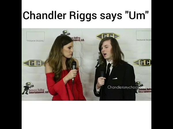 Chandler Riggs says Um