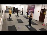 Урок-подарок «Пилатес с мягким мячом» для участниц ярмарки ДМИТРОВ-город талантов