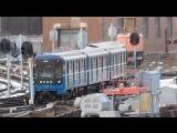 """Заход 81-714⁄717 в электродепо ТЧ """"Московское"""""""