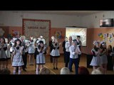 Танец с масками для учителей. Последний звонок 2017