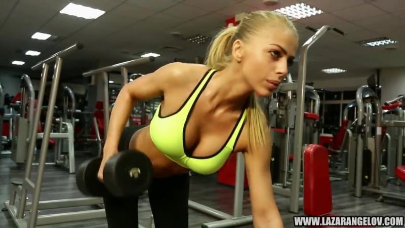 Lazar Angelov - Yanita BeautyAndTheBeast Workout. Бодибилдинг, мотивация, качал