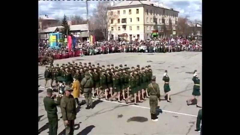 9 мая 2018 год. Митинг, посвященный Дню Победы. Чебаркуль.