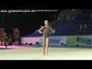 Алина Ермолова - булавы Гран-При Холон 2015