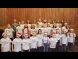 Поздравление детского хора НОВАТа с Новым годом и Рождеством