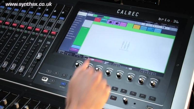 Calrec Brio - Assigning Audio Paths to Faders