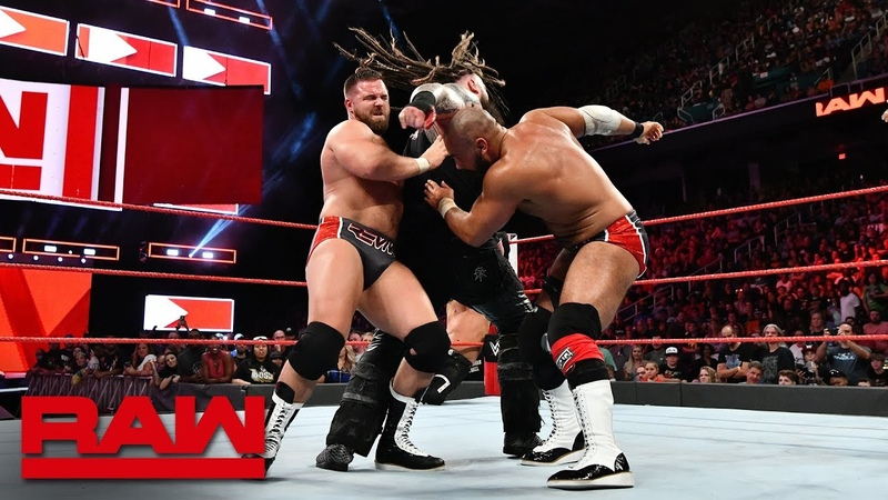 B-Team vs Deleters of Worlds vs The Revival - Raw Tag Title Triple Threat Match, Raw, Aug. 13, 2018
