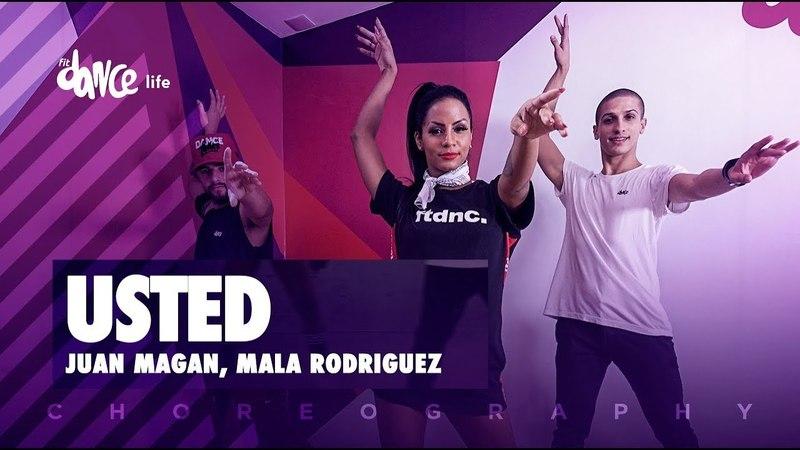 Usted - Juan Magan, Mala Rodriguez | FitDance Life (Coreografía) Dance Video