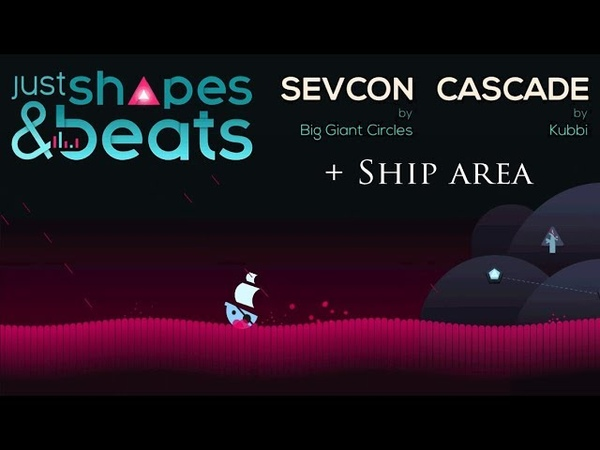 COMPLETING ISLAND LEVELS! Just Shapes Beats 8 - Cascade, Sevcon, Ship [1080p60]