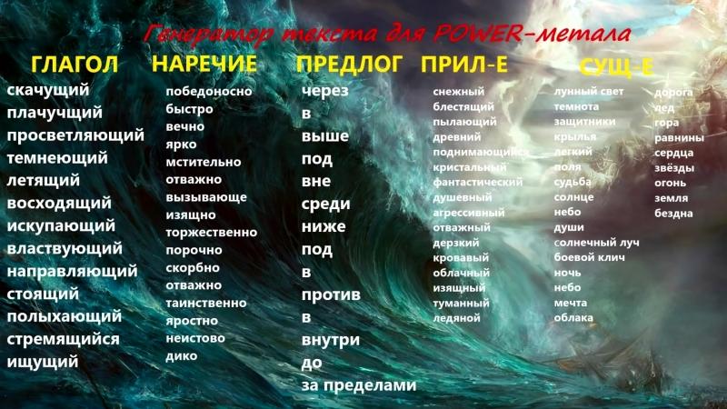 Как стать POWER-МЕТАЛЛИСТОМ (STEVIE T RUS)