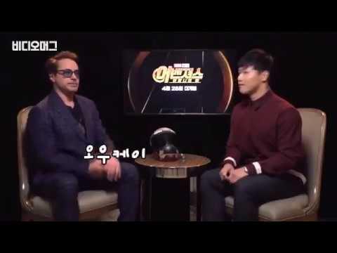 Robert Downey Jr. interview in Singapure