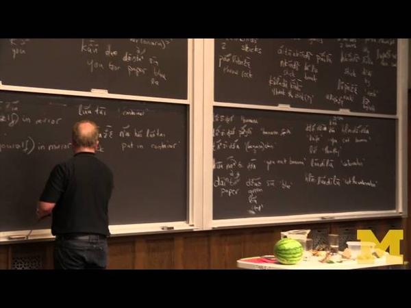 Monolingual Fieldwork Demonstration - Daniel Everett