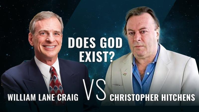 Дебаты: Существует ли Бог? [Уильям Крейг vs Кристофер Хитченс]