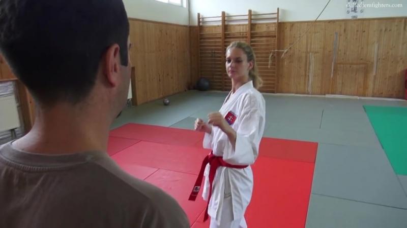 K Lenka dangerous karate kicks preview