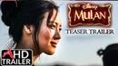 Mulan 2020 TEASER TRAILER Liu Yifei Donnie Yen Film CONCEPT