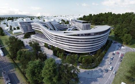 Beko Masterplan – многоцелевой комплекс от Захи Хадид в Белграде