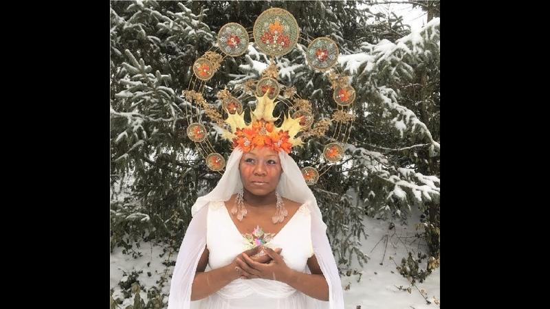 DIY Alphonse Mucha -inspired Headdress (part 12)