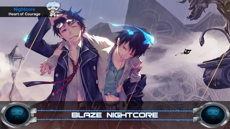Nightcore - Heart of Courage