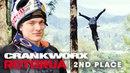 Crankworx Rotorua 2018: MTB Slopestyle ride with rider Thomas Genon.