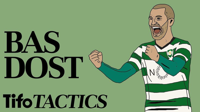 Bas Dost for Sporting CP   Tactical Profile