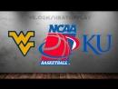 West Virginia Mountaineers vs Kansas Jayhawks 10.03.2018Big 12 ChampionshipFinalNCAAM 2017-2018ВиасатViasat Sport HD RU