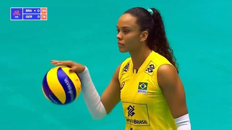 Brazil v Germany — Full Highlights | 2018 Volleyball Nations League Women's