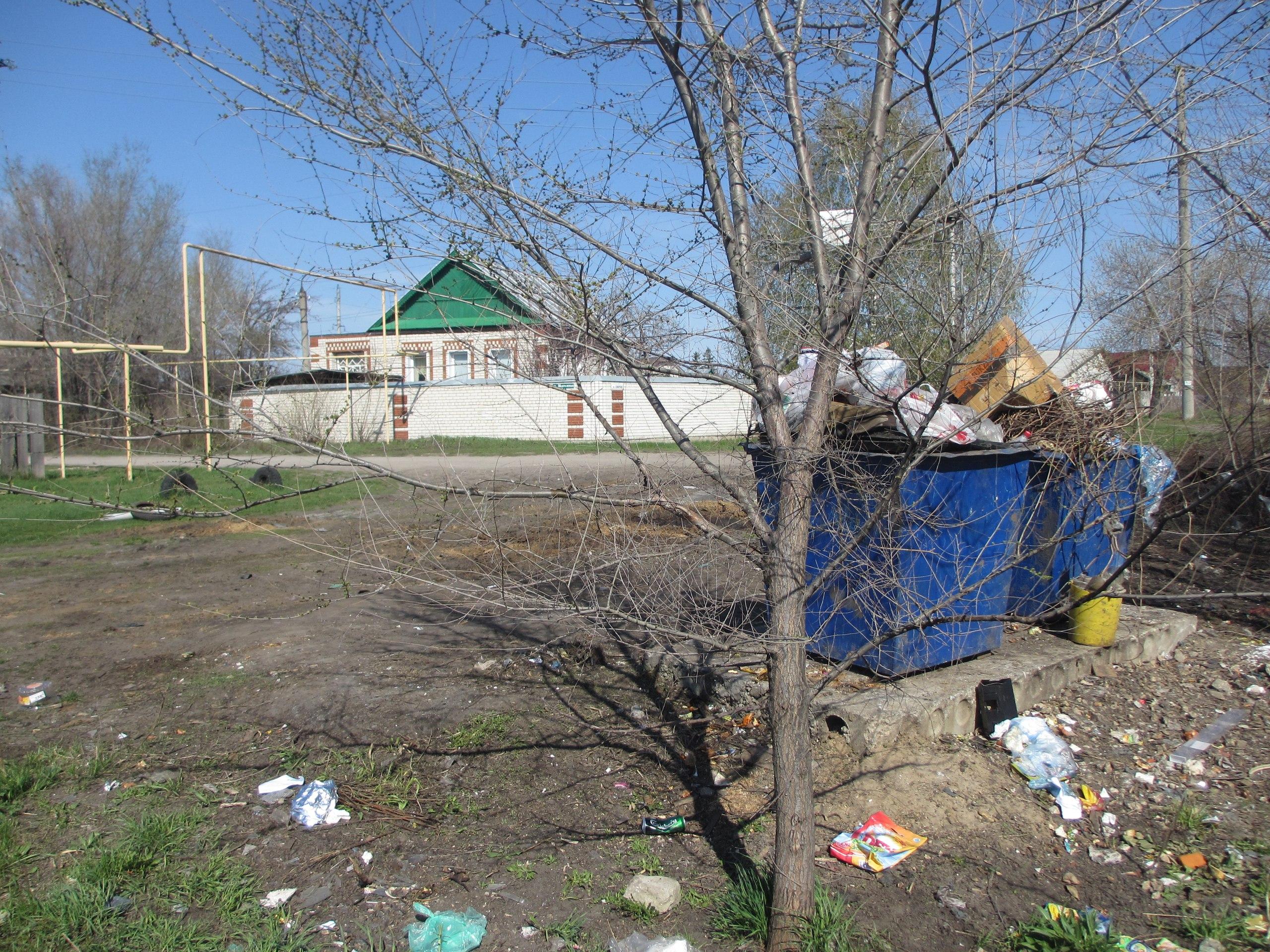 Мусор в Сызрани