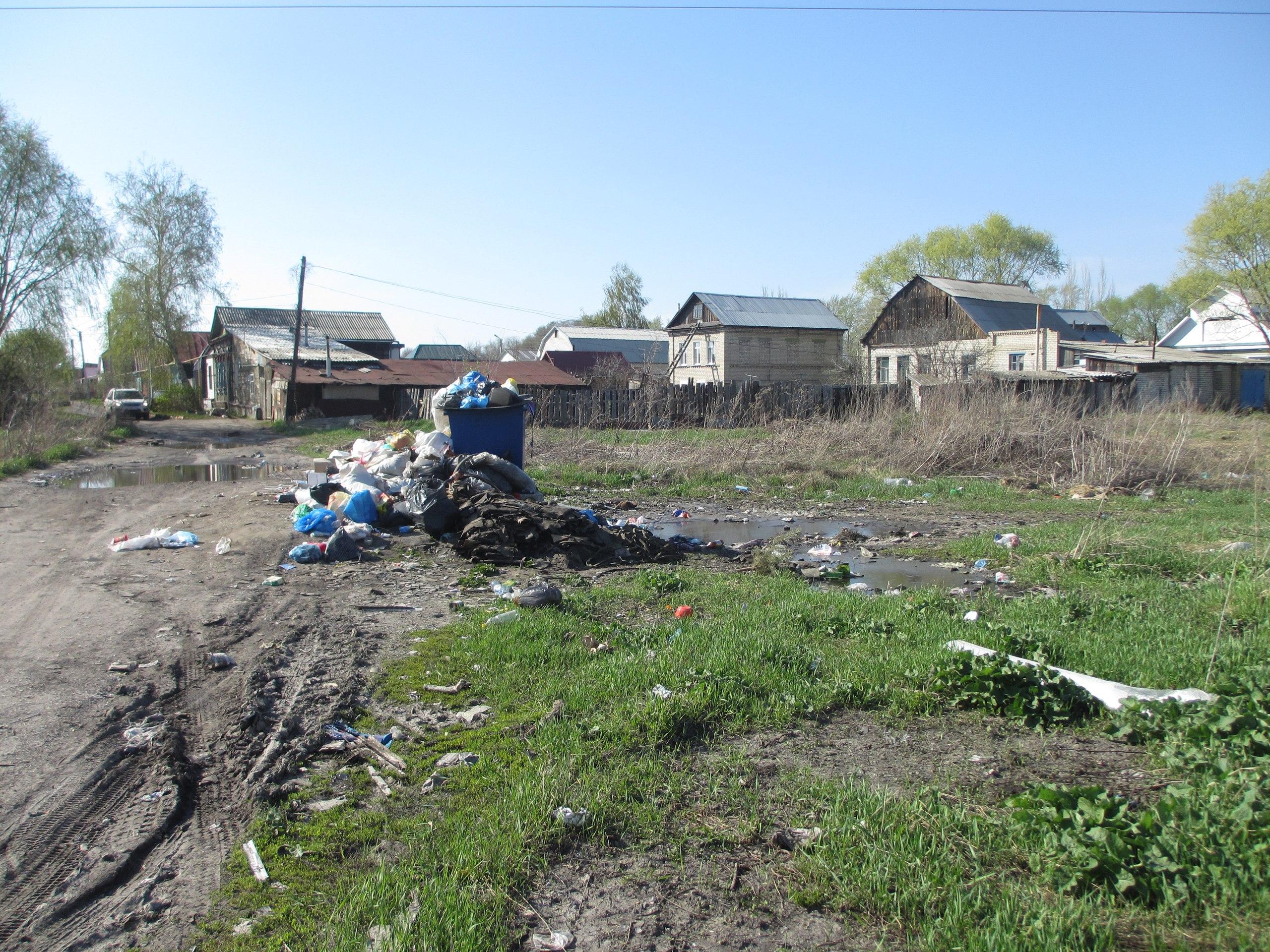 Сызрань посёлок Западный