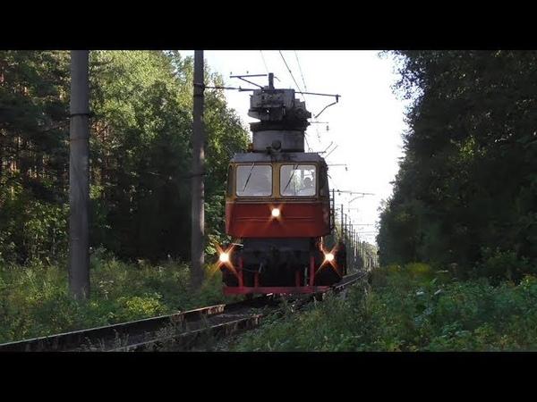 Автомотриса МПТ4-823 следует по перегону Заневский Пост-1 - Ржевка