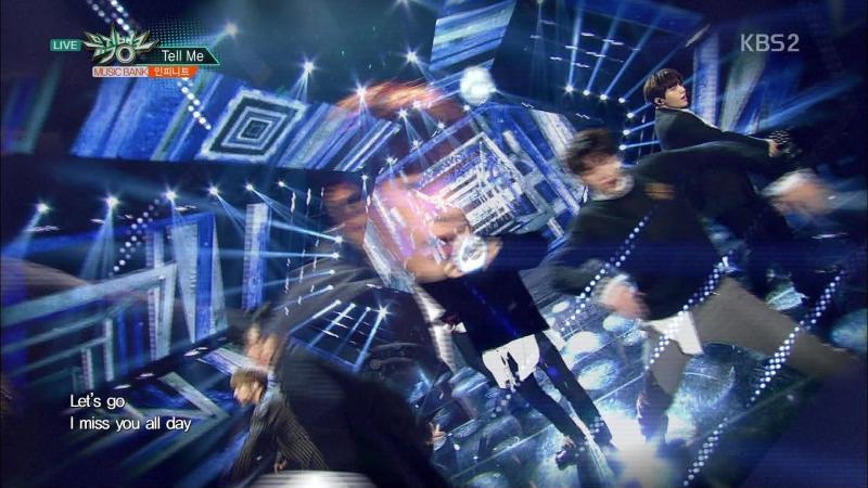 [Comeback Stage] 180112 INFINITE (인피니트) - Tell Me