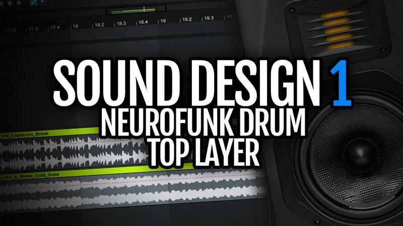 How to make Neurofunk Drum Bass drum top layer - Sound Design Saturday
