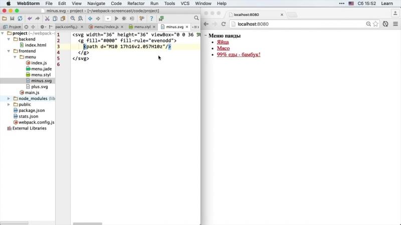 Webpack 8.3 Live Reload HMR - Live Reload - YouTube