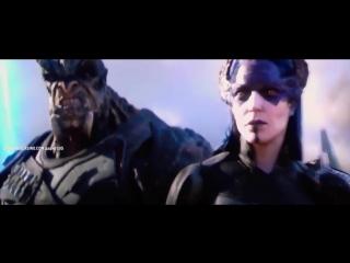 (Подать мне Таноса) Тор Грут и Ракета прибывают в Ваканду.mp4