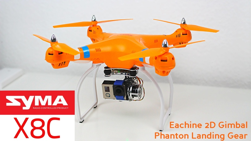 SYMA X8C Eachine 2D Gimbal Phantom Landing Gear
