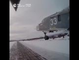 Учения экипажей перехватчиков МиГ-31 и бомбардировщиков Су-24