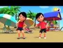 Head Shoulder Knees And Toes Nursery Rhymes Kids Songs Baby Rhymes by Bob The Train S02E12