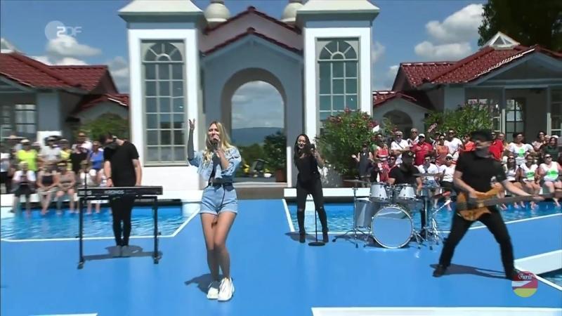 Glasperlenspiel «Hit-Medley» ZDF-Fernsehgarten 03.06.2018